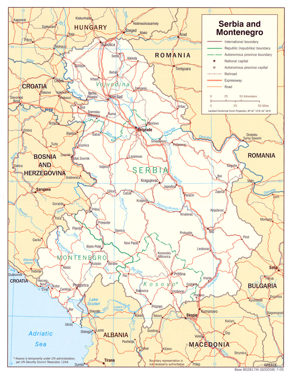 serbia-map
